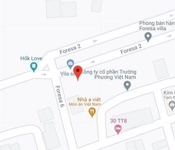 Địa chỉ công ty thiết bị thái an trên google maps
